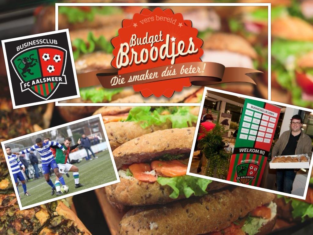 Businessclub FC Aalsmeeer - Budget Broodjes