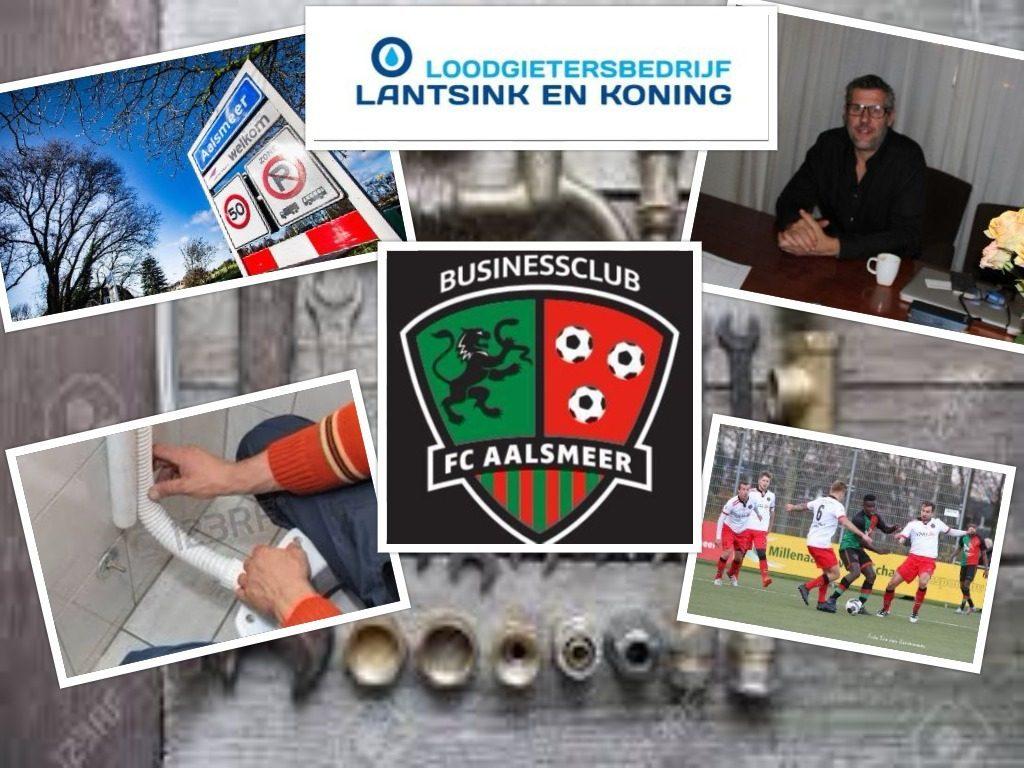 Businessclub FC Aalsmeer - loodgietersbedrijf Lantsink en Koning
