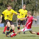 1 Sep Bekerderby KDO - FC Aalsmeer za1 (3-1). Foto's: Ton van Eenennaam. Email: ton_jau@kpnmail.nl