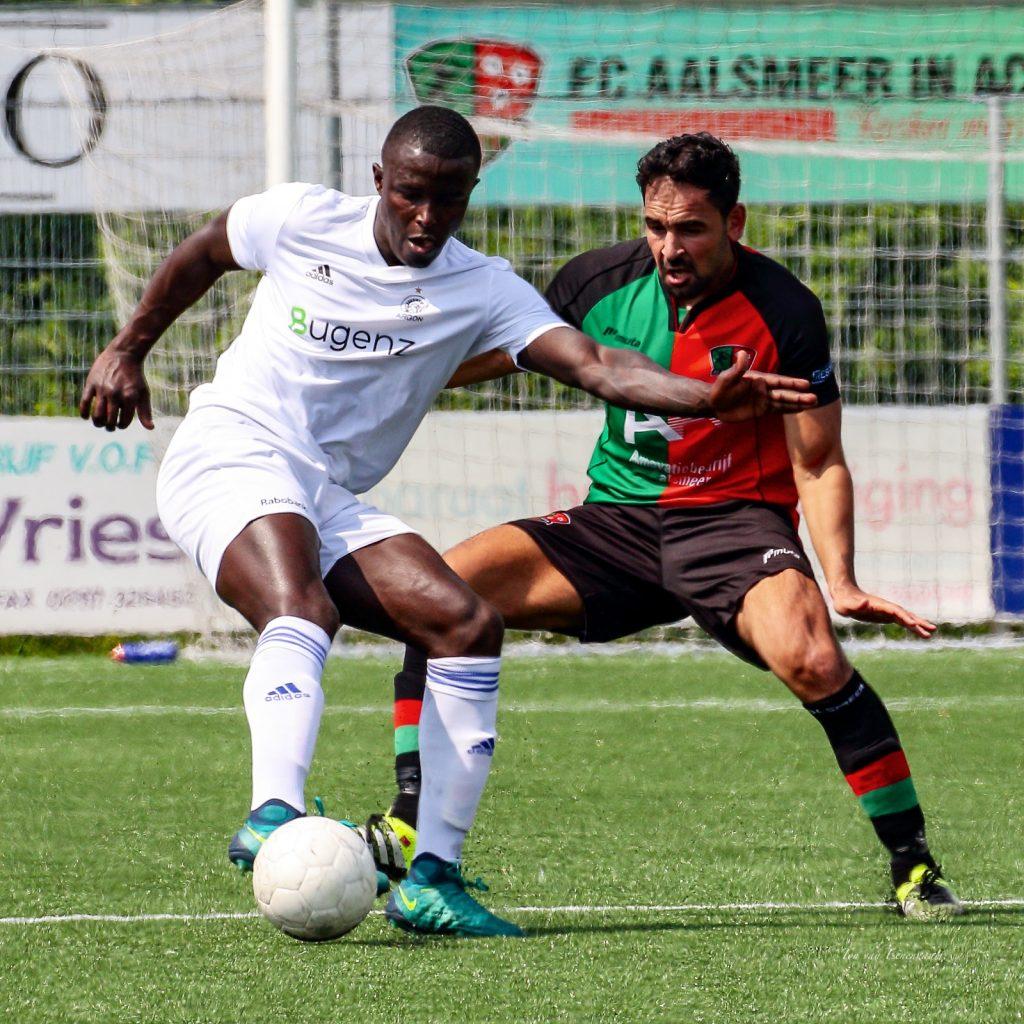 18 Mei FC Aalsmeer - Argon 0-1 Foto's Ton van Eenennaam @Insta ton_ve